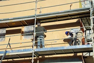 Recouvrement travaux de ravalement de façade