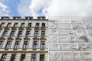 Protection et traitement travaux ravalement de façade